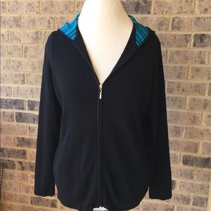 Chico's Women's Hooded Activewear Jacket Size 1